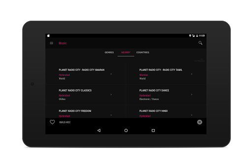 Radioverse - Internet Radio screenshot 12
