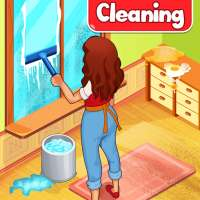 Big Home Cleanup and Wash : House Cleaning Game on 9Apps