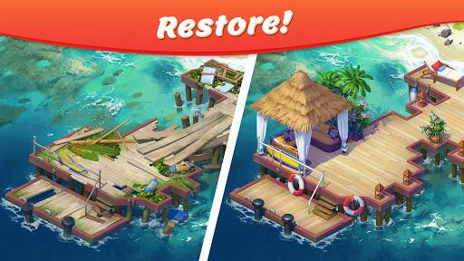 Tropical Forest: Match 3 Story screenshot 1