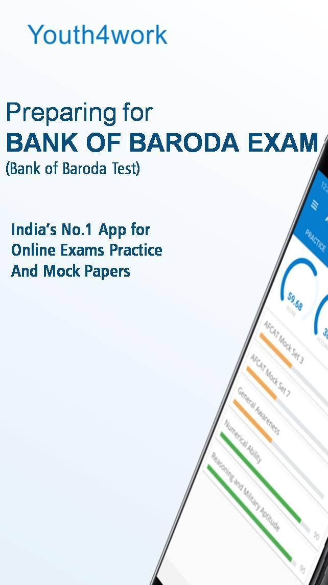Bank of Baroda Exam Prep 1 تصوير الشاشة
