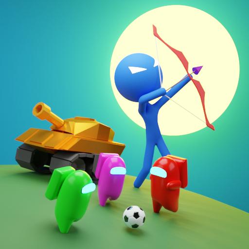 1 2 3 4 Player Games : mini games 2021 icon