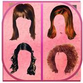 Women Hair Style Photo Editor icon