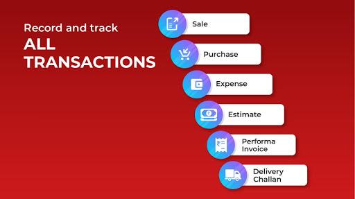Invoicing, Billing, GST, Inventory, Accounting 5 تصوير الشاشة