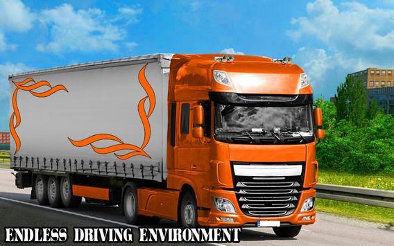 Speed Parking Truck Simulator :Truck Driving 2018 screenshot 2
