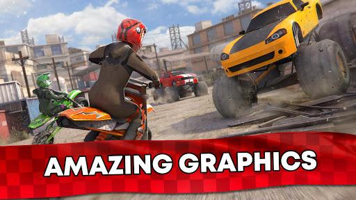 Free Motor Bike Racing - Fast Offroad Driving Game screenshot 12