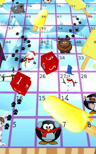Pesky Penguins, Snakes Ladders screenshot 2