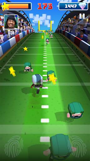 Marshawn Lynch Blocky Football screenshot 7