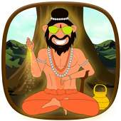 Talking Yog Guru Babaji Game on 9Apps