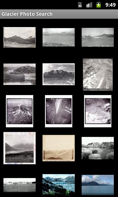 Glacier Photo Collection screenshot 2