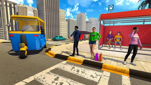Tuk Tuk Rickshaw: Free Driving Games screenshot 4