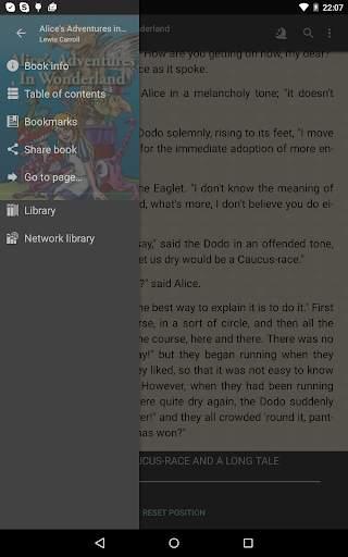 FBReader: Favorite Book Reader screenshot 13