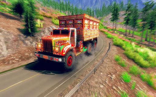 Asian Truck Simulator 2020: เกมขับรถบรรทุก screenshot 9