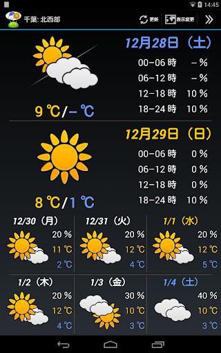 WeatherNow (JP weather app) screenshot 8
