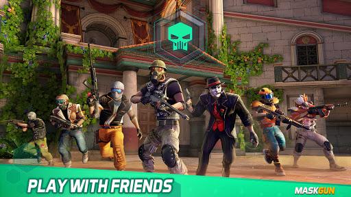MaskGun Multiplayer FPS - Shooting Gun Games screenshot 4