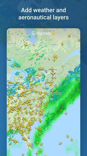 Flightradar24 Flight Tracker 4 تصوير الشاشة