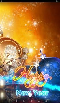 السنة الجديدة على مدار الساعة 8 تصوير الشاشة