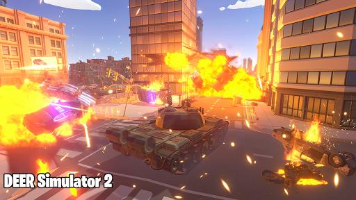 Deer Simulator 2 Game - Hero Gangster Crime City screenshot 7