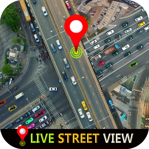 التجوّل الافتراضي المباشر وملاحةGPSوخرائطالأرض2021 أيقونة
