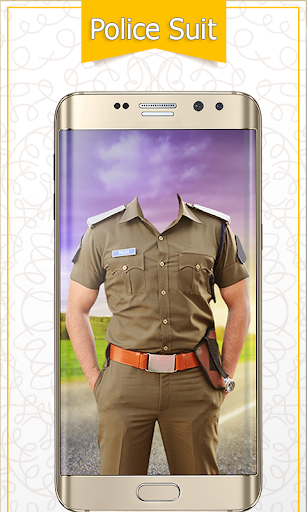 Police Suit Photo & Image Editor - Photo Frames 2 تصوير الشاشة