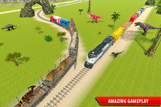 Train Simulator 2021: Rescue Dinosaur Transport screenshot 7