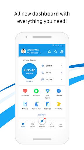 MyGP – Offers, Recharge, Live TV, FlexiPlan 1 تصوير الشاشة