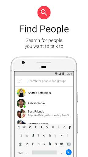 Messenger Lite: Telepon & Pesan Gratis screenshot 7