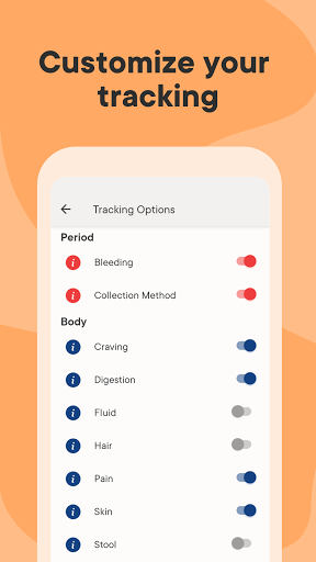 Clue Period Tracker, Cycle & Ovulation Calendar 8 تصوير الشاشة