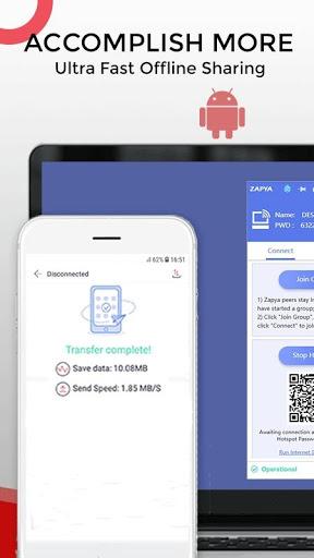Zapya - File Transfer, Share Apps & Music Playlist screenshot 3