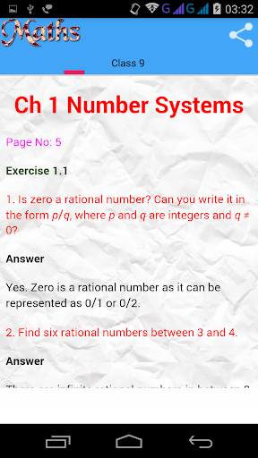 Class 9 Maths Solutions screenshot 2