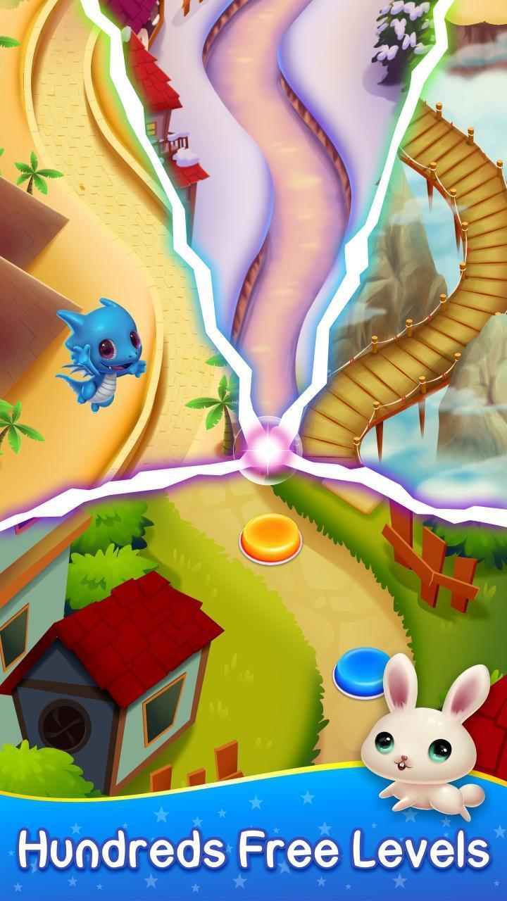 Monster Pet Pop Bubble Shooter 2 تصوير الشاشة