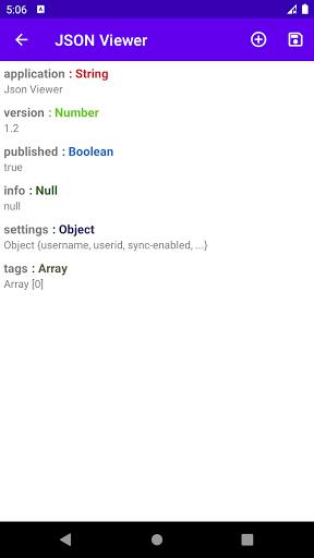 JSON Viewer & Editor screenshot 2