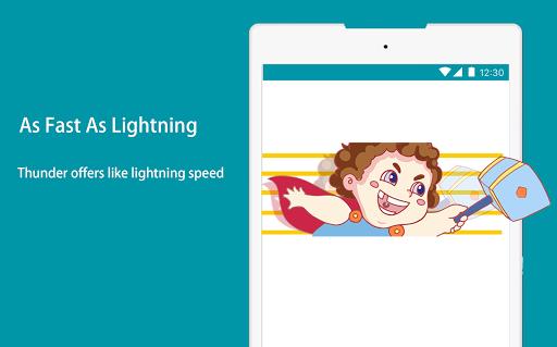 Thunder VPN - Fast, Free VPN by Signal-Lab स्क्रीनशॉट 4