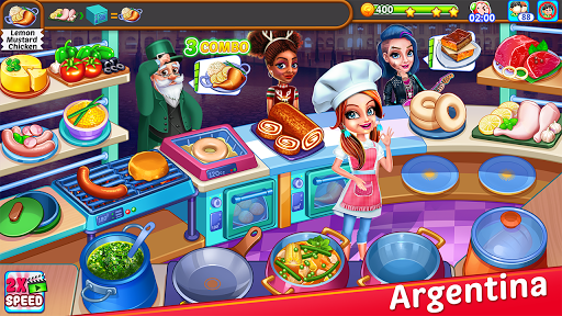 Cooking Express : Food Fever Cooking Chef Games 5 تصوير الشاشة