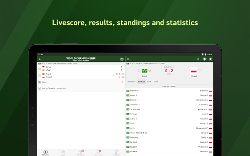 Volleyball 24 - live scores screenshot 6