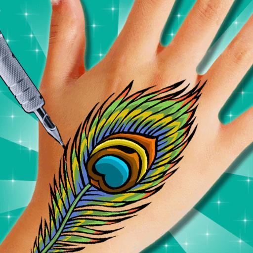 Tattoo drawing – tattoo my photo icon