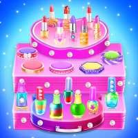 Makeup kit cakes : cosmetic box makeup cake games on APKTom