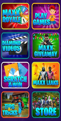 FREE MAXX : Free DJ ALOK, Diamonds & Elite Pass screenshot 2
