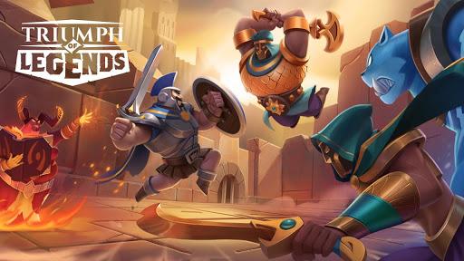 Triumph of Legends screenshot 1
