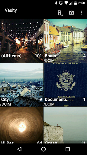 Hide Pictures & Videos - Vaulty 1 تصوير الشاشة
