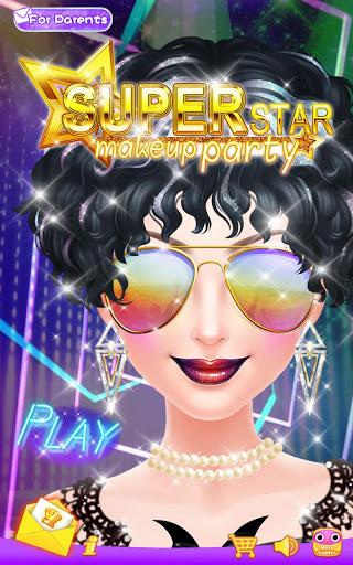 Superstar Makeup Party 1 تصوير الشاشة