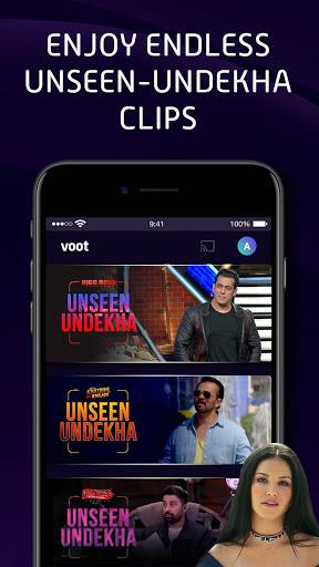 Voot Select Originals, Bigg Boss, MTV, Colors TV screenshot 4