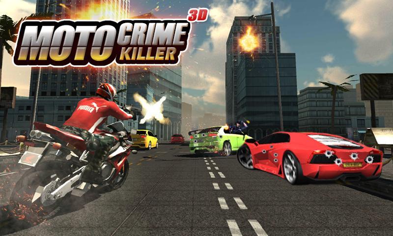 Moto Crime Killer 3D screenshot 2