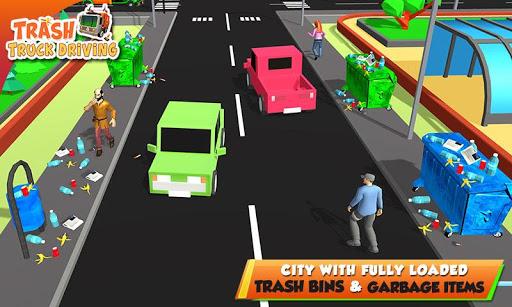 Urban Garbage Truck Driving - Waste Transporter screenshot 5