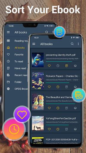 EBook Reader & PDF Reader screenshot 3