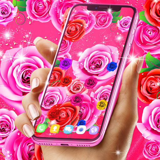 Best rose live wallpaper 2021 icon