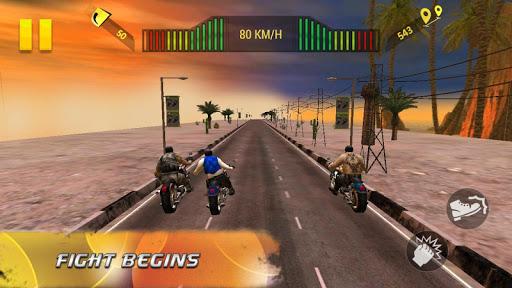 Moto Attack 3D Bike Race 2016 screenshot 4