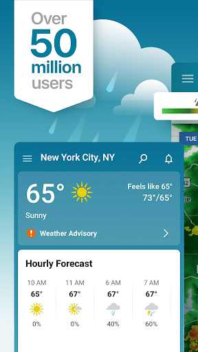 Weather Forecast & Snow Radar: The Weather Channel screenshot 1