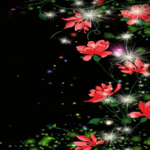 Red Flowers Magic LWP