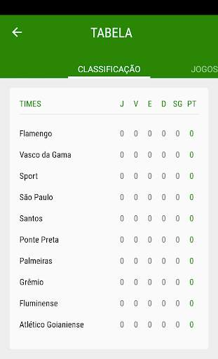 Brasileirão 2020 - Futebol screenshot 2