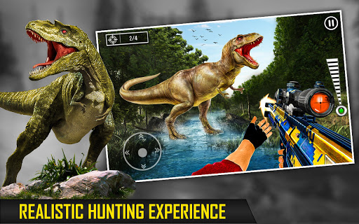 Wild Dino Hunting Clash: Animal Hunting Games screenshot 1